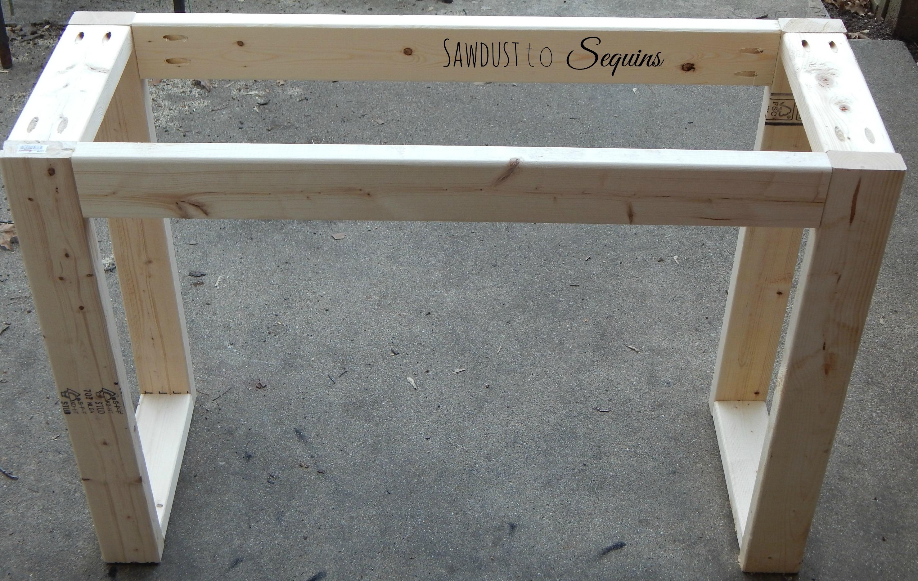 DIY $25 Console Table!