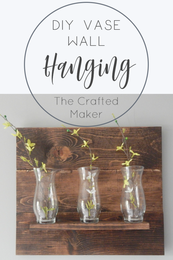 DIY Vase Wall Hanging - Step by Step Tutorial