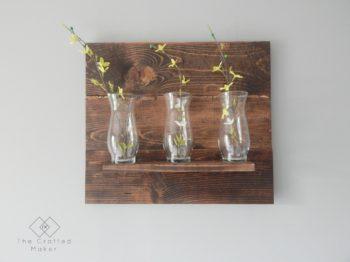 DIY Vase Wall Hanging