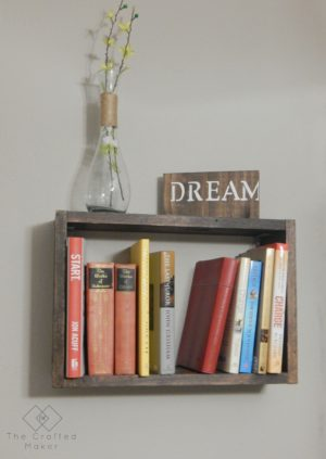 Hanging Book Shelf