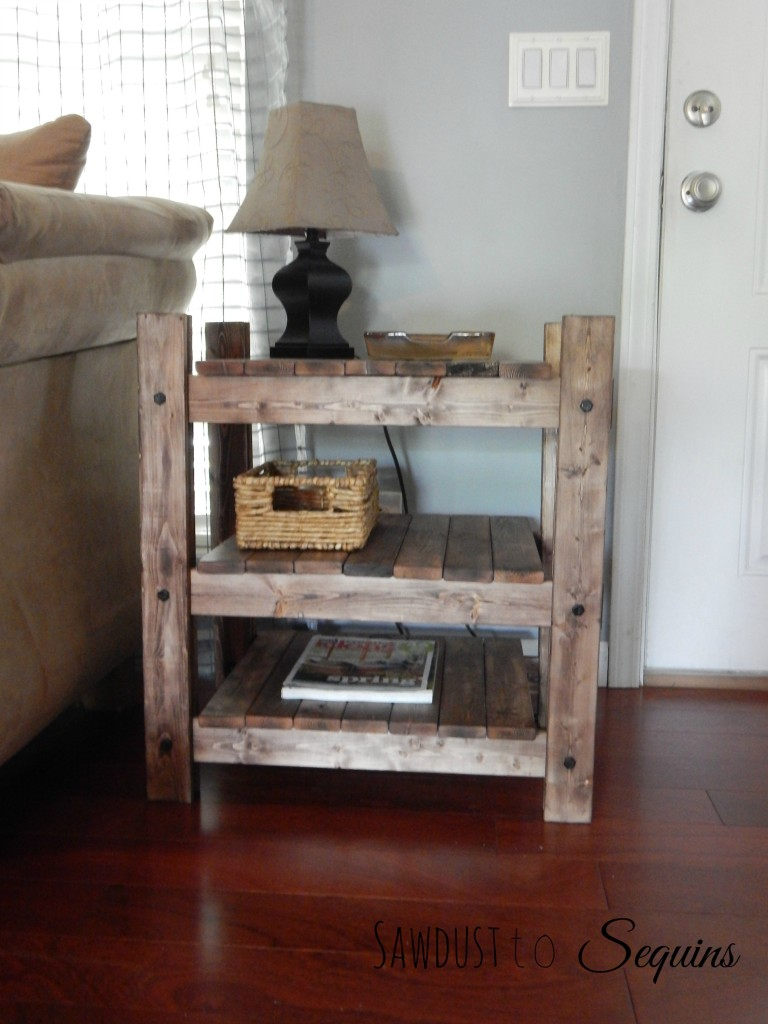 Arhaus End Table Post23