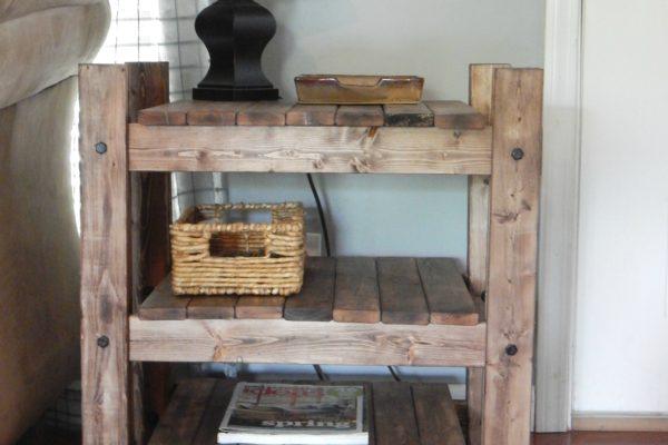 Arhaus Inspired End Table