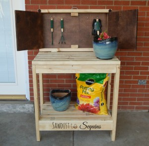 DIY Party Cart / Potting Bench