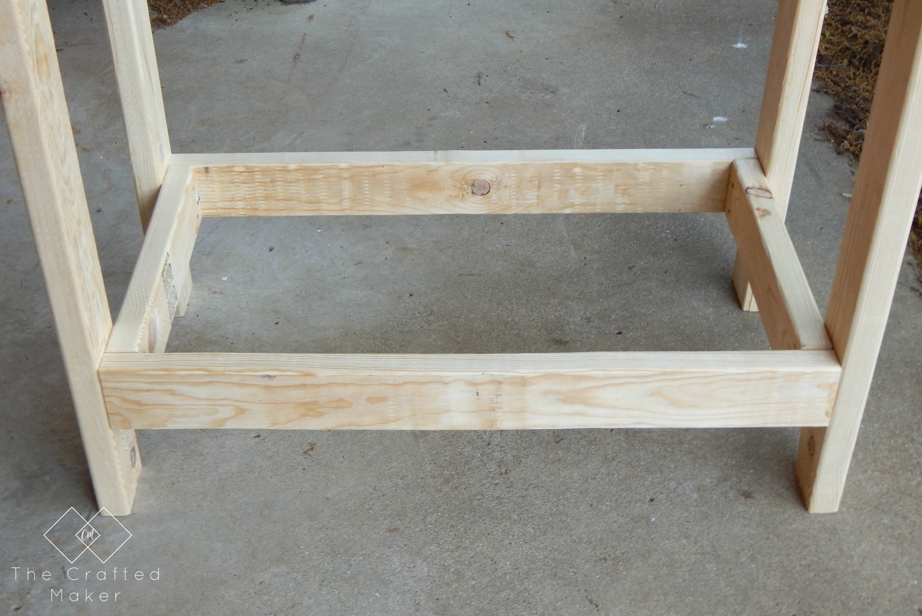 Wondrous Diy Party Cart Potting Bench The Crafted Maker Evergreenethics Interior Chair Design Evergreenethicsorg