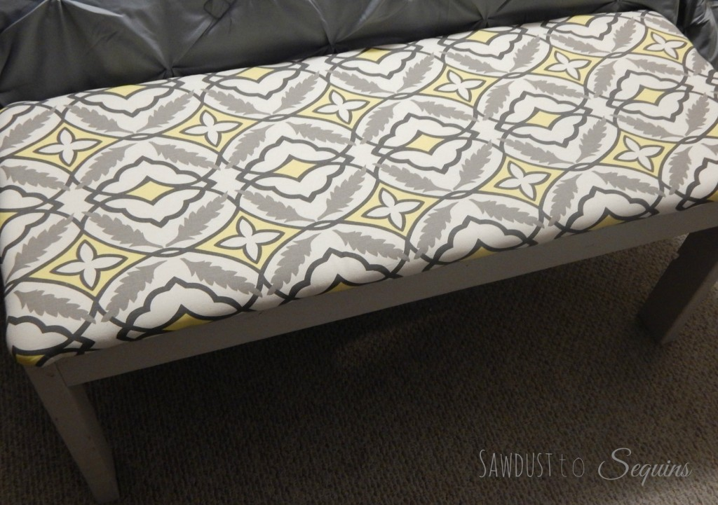 Fabric Covered Bench Final2