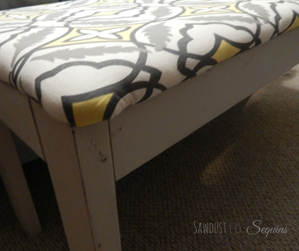 Fabric Covered Bench Final3