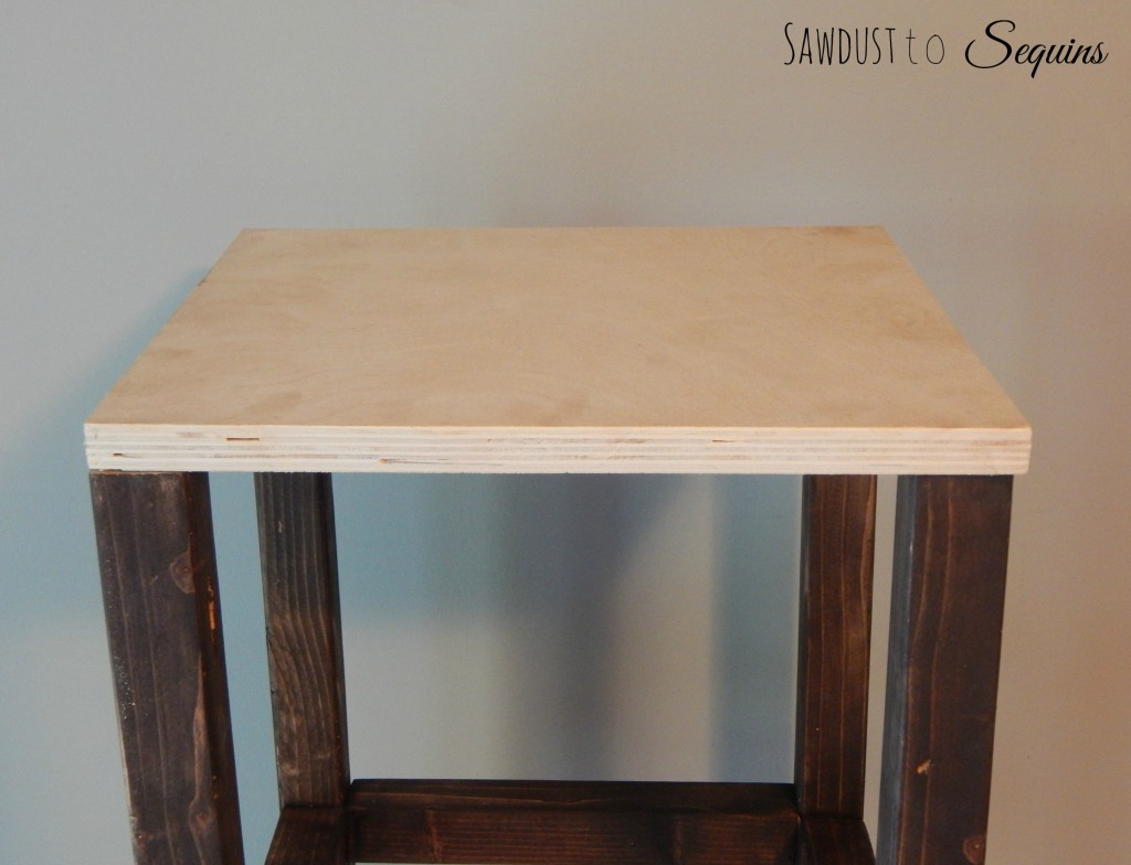 Tiled End Table Top