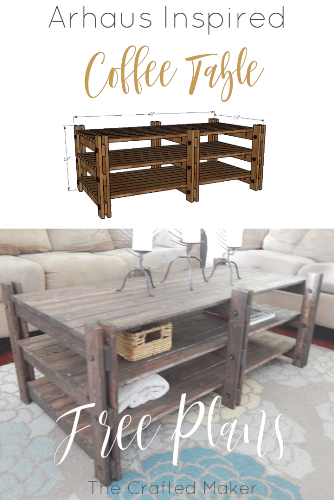 Do you love expensive furniture but refuse to pay thousands of dollars for it? If yes, I have you covered. Arhaus inspired coffee table for way less!!