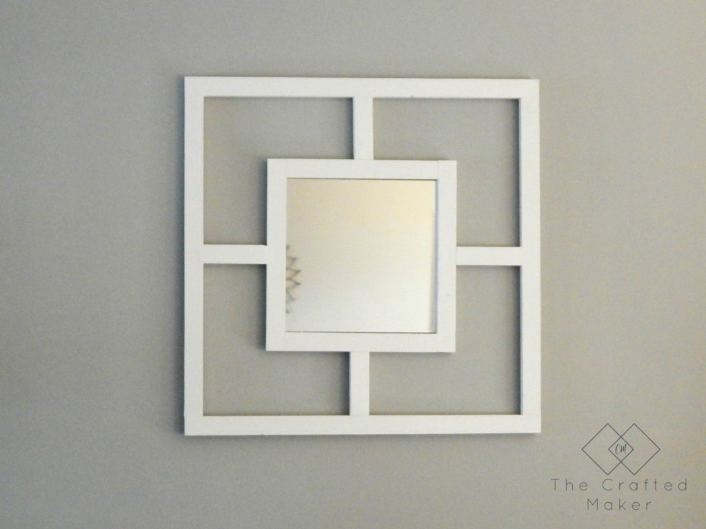 DIY Decorative Mirror - Free Plans
