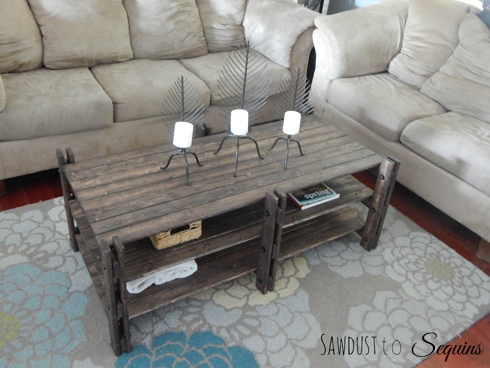 Arhaus Inspired Coffee Table The Crafted Maker