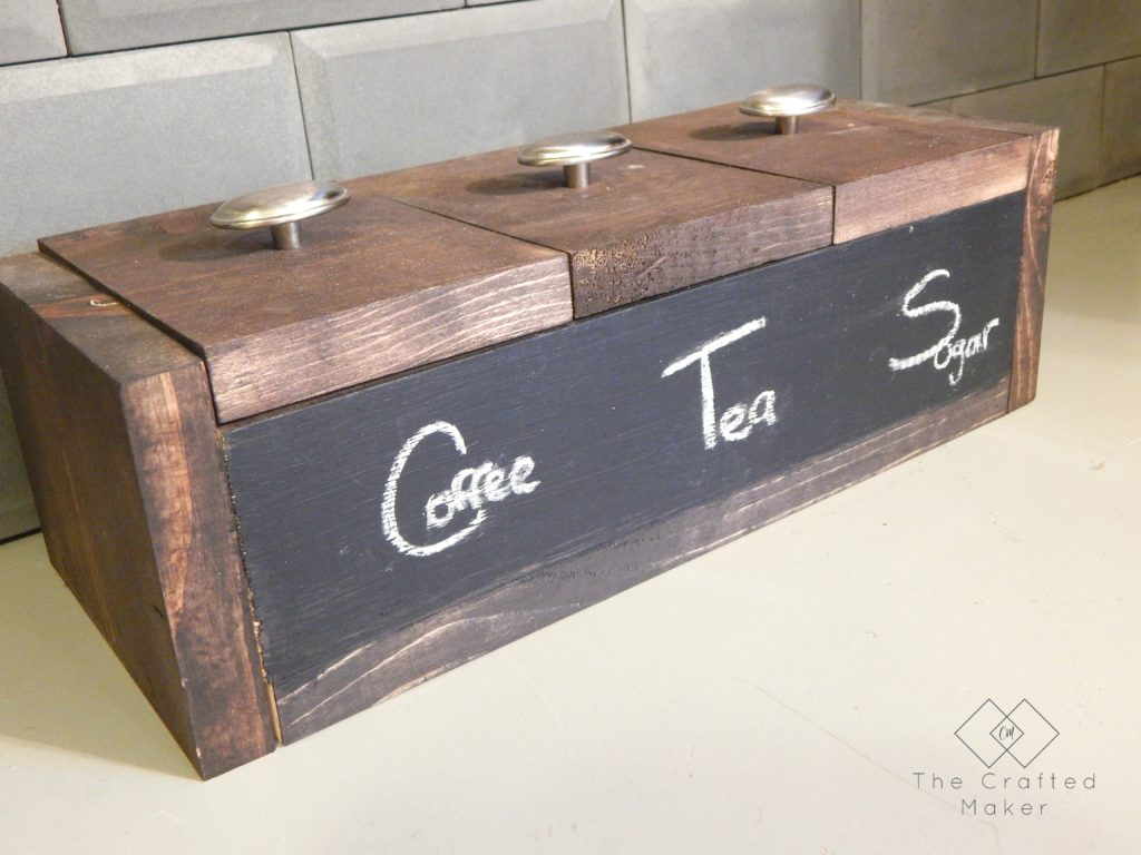 Kitchen Beverage Box - Free Plans
