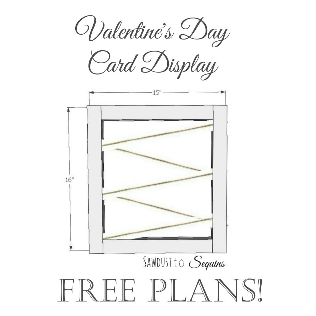 Valentine's Day Card Display Plans
