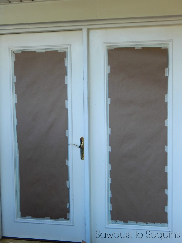 Door Prep - Paint a Brick Home