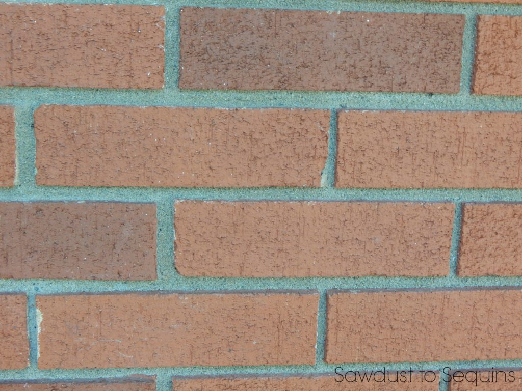 Old Brick Close Up - Paint a Brick Home