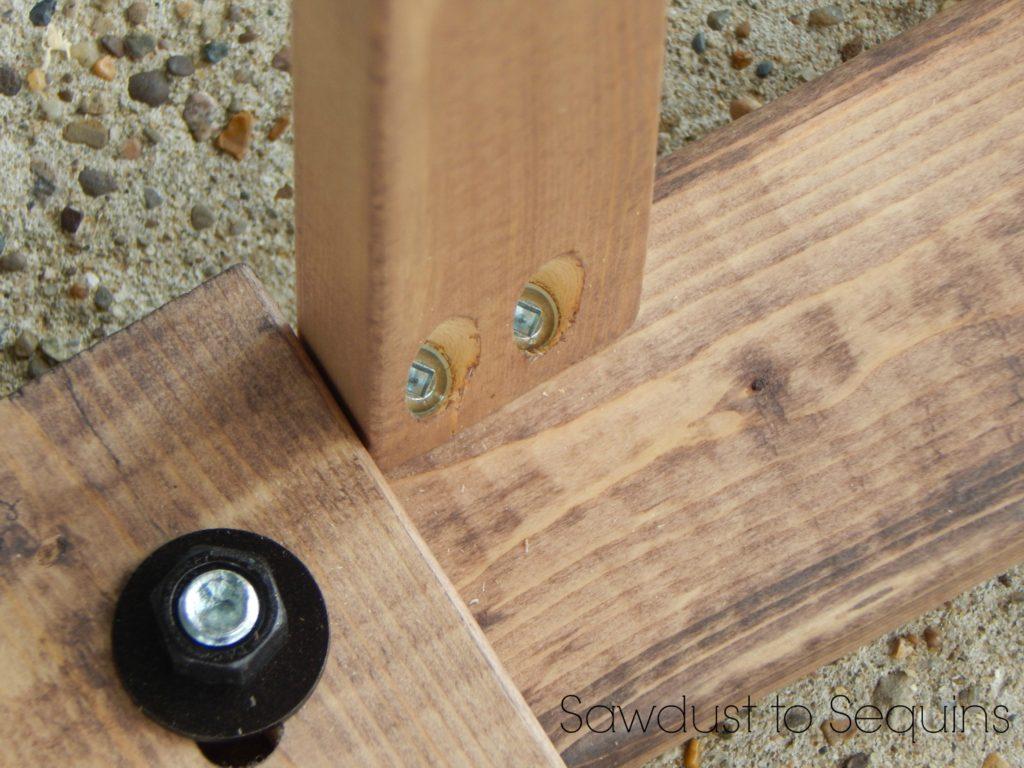 Pocket Hole Shelf Supports