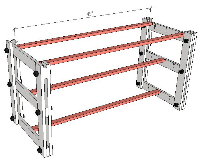 Shelf Support Boards
