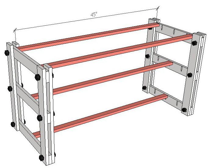 Shelf Support Boards