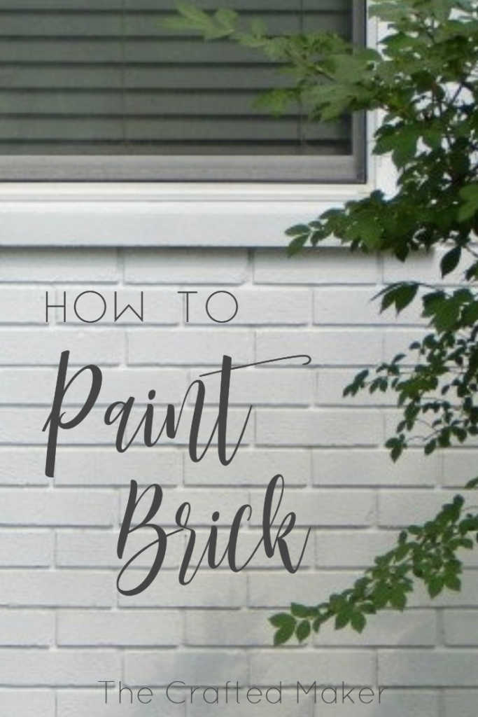 Have you ever wanted to change the look of your home? Learn how to paint a brick home in this tutorial. This completely transformed my home for the better.