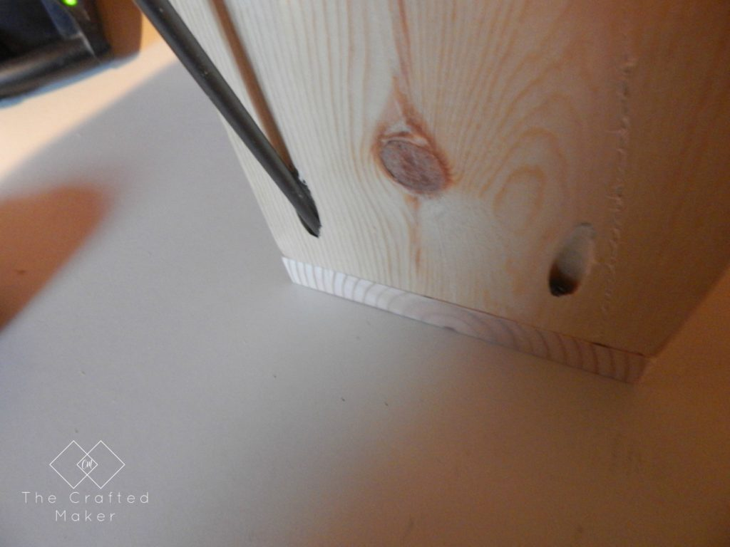 Assemble Boards to Create DIY Wood Bookends - The Crafted Maker