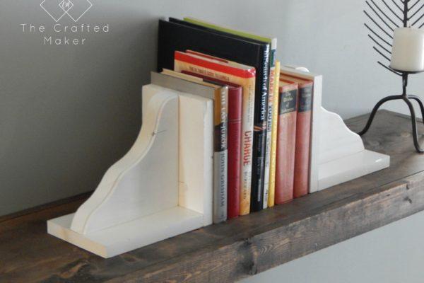 DIY Wood Bookends