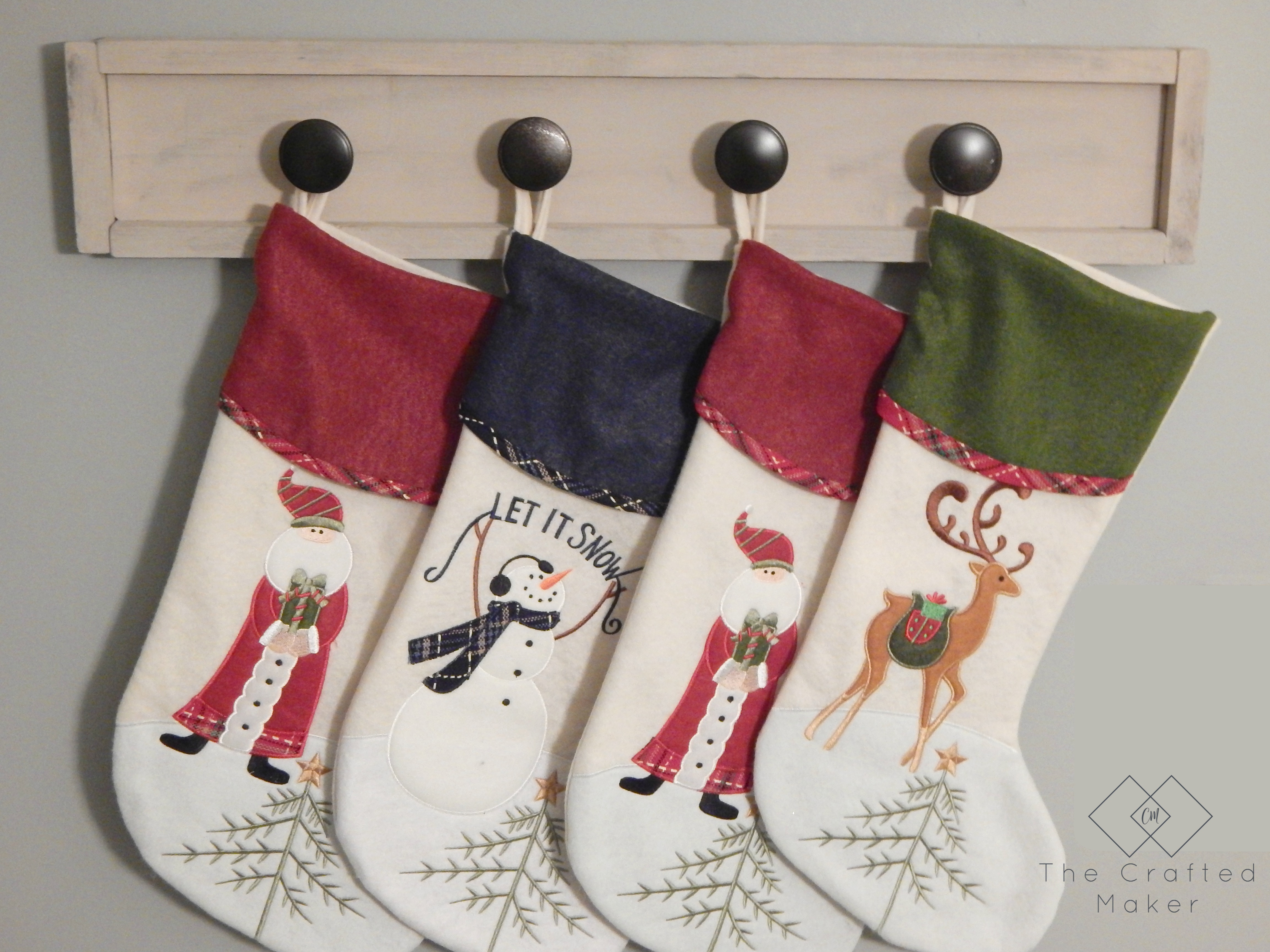 Scrap Wood Stocking Holder
