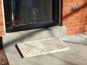 DIY WORKSHOP – WOODEN DOOR MAT