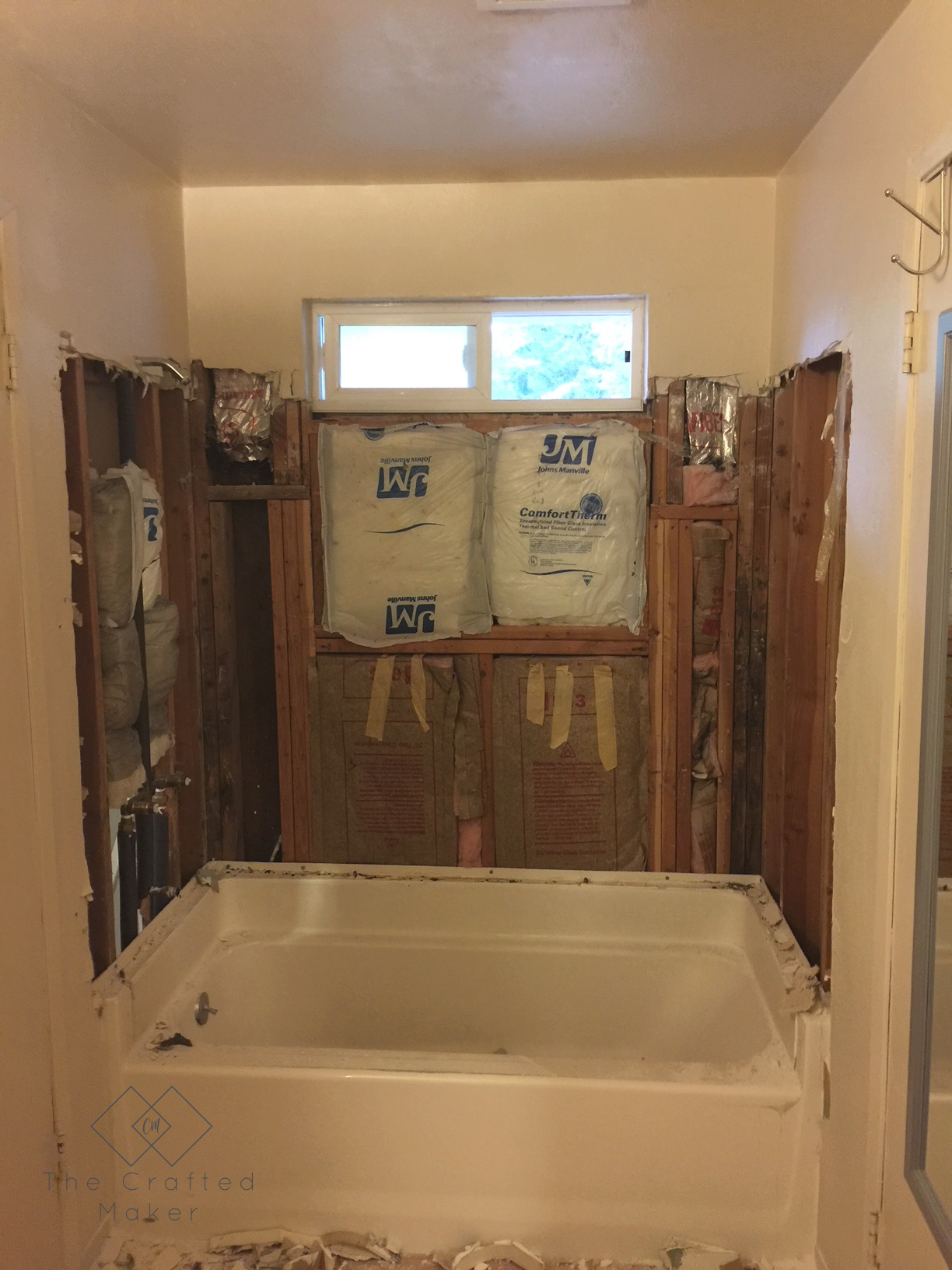 Bathroom Renovation-Demo Day