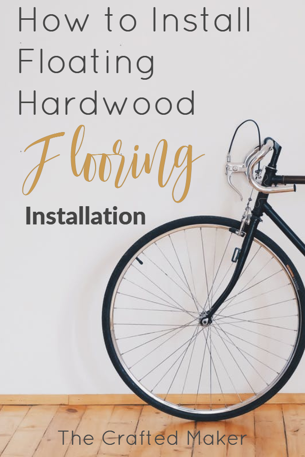 Adding hardwood to your home is something you can do yourself. This step by step tutorial will show you how to install floating hardwood flooring.