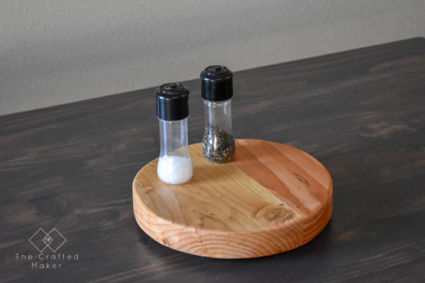 Wooden Lazy Susan from Scrap Wood