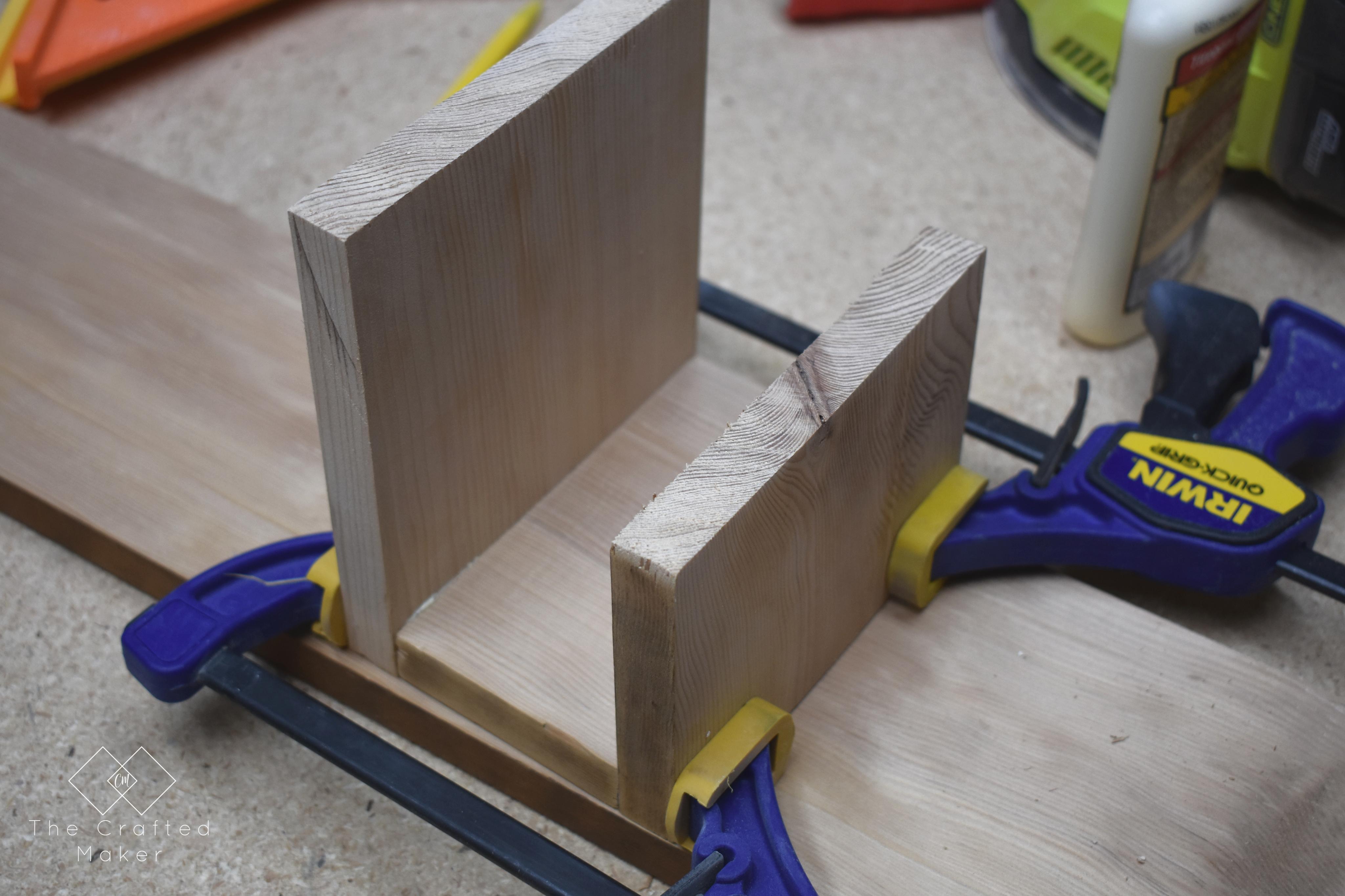 Diy Napkin Holder The Crafted Maker
