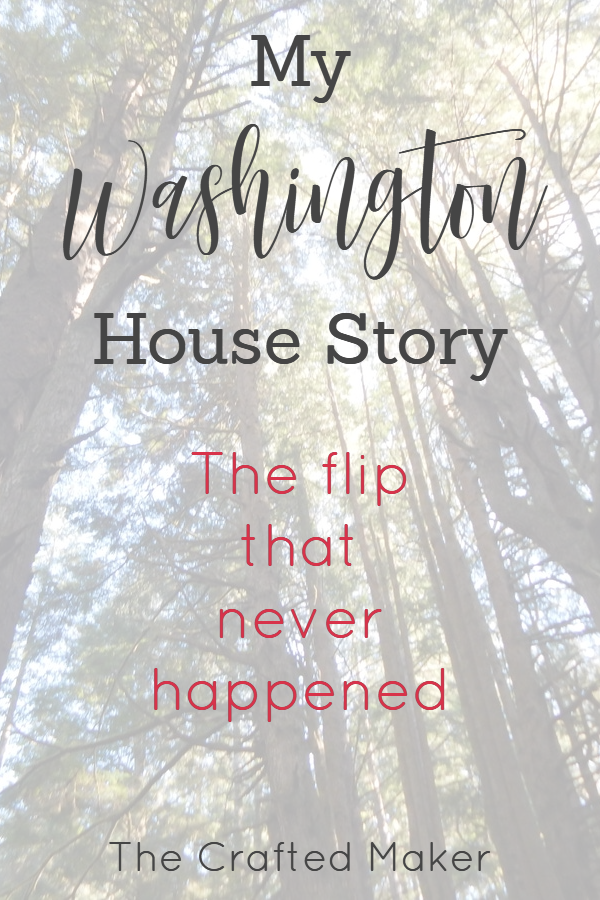 After moving to Washington to flip houses, I didn't expect to fall in love with one of them and make it my home. There are many projects coming to the blog.