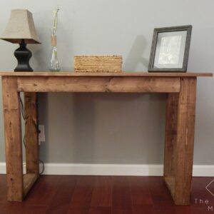 25 Dollar Console Table - The Crafted Maker